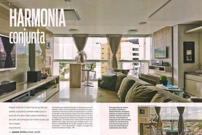 Gazeta do Povo - Revista Viver Bem Casa e Decoração - Janeiro