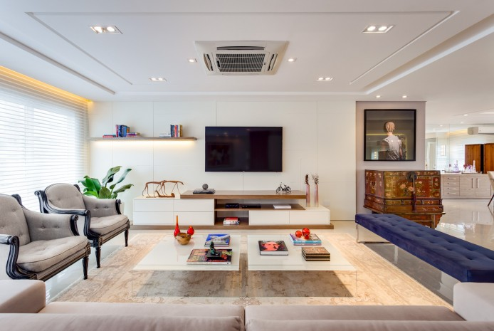 Sala - Apartamento Hugo Lange - Residencial
