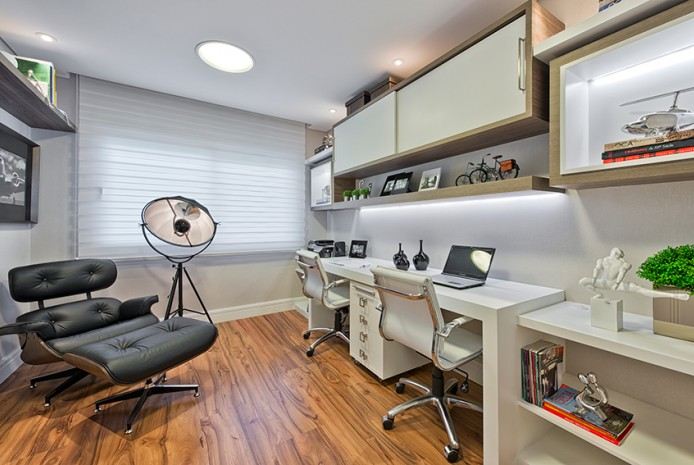 Home Office - Resid�ncia Ecoville - Residencial
